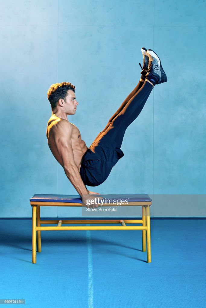 Personal trainer and online health coach Max Lowery is photographed for You magazine on September 15, 2017 in London, England.