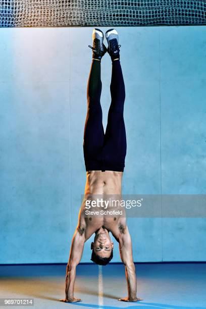 Personal trainer and online health coach Max Lowery is photographed for You magazine on September 15 2017 in London England