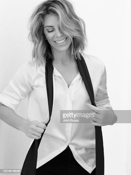Personal trainer businesswoman author and television personality Jillian Michaels is photographed for Bella magazine on February 8 2018 in Los...
