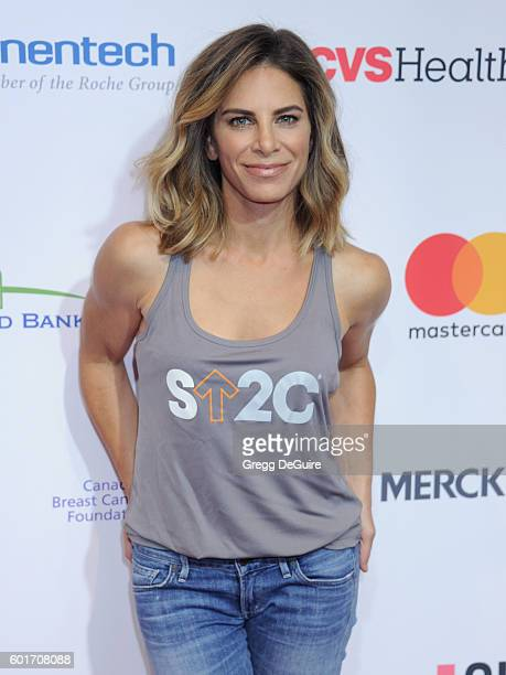 Personal trainer Jillian Michaels attends Hollywood Unites for the 5th Biennial Stand Up To Cancer A Program of The Entertainment Industry Foundation...