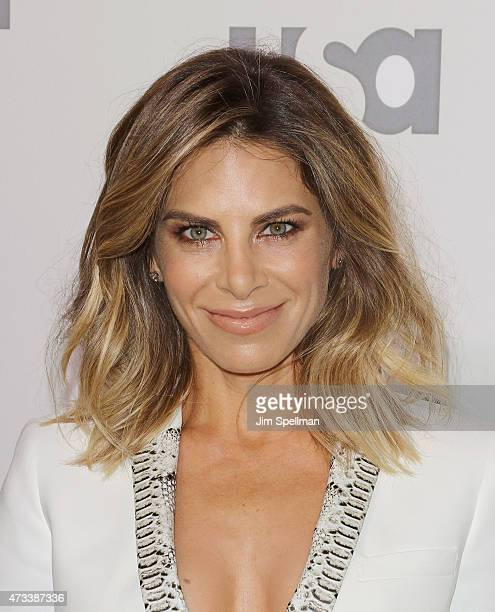 Personal trainer Jillian Michaels attends the 2015 NBCUniversal Cable Entertainment Upfront at The Jacob K Javits Convention Center on May 14 2015 in...