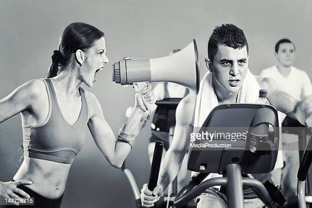 personal trainer - female torture stock pictures, royalty-free photos & images