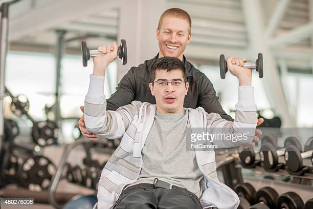 Personal Training for Disabled Young Adult