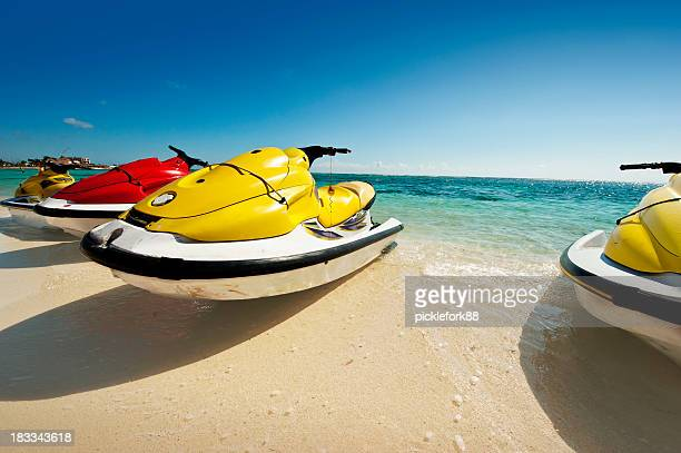 personal water craft on the beach
