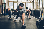 Personal Weight Training In The Gym