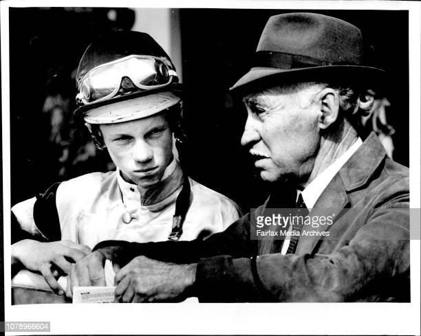 PersonaliitesClose up owner FB Lewis jockey J Powell jockey J Powell jockey B King August 19 1989