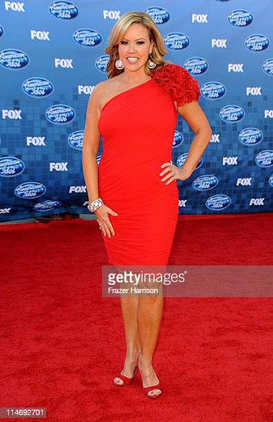 TV personaliry Mary Murphy arrives at Fox's American Idol season 10 finale results show held at Nokia Theatre LA Live on May 25 2011 in Los Angeles...