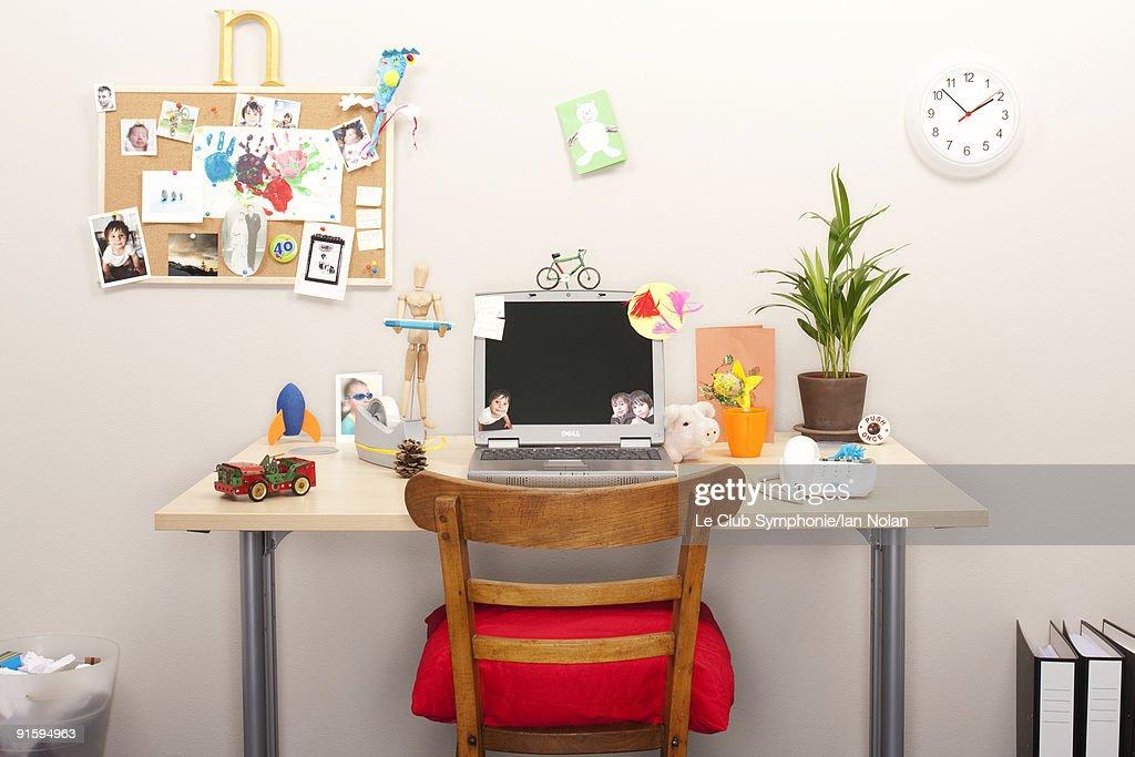 personalised workstation : Stock Photo