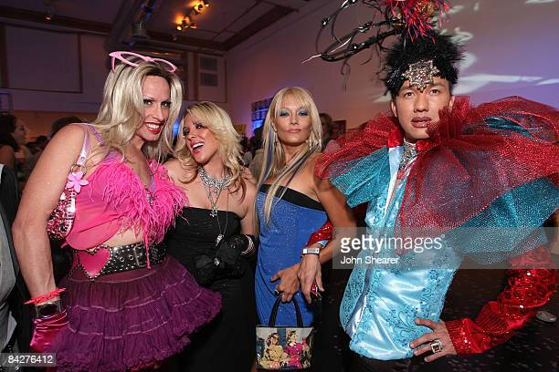 Personalities Alexis Arquette Kayley Gable Heather Chadwell and Bobby Trendy SVEDKA Vodka Presents Hollywood DC Lights Camera Election at the World...