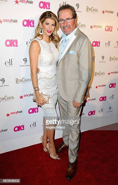 TV personalities Alexis Bellino and Jim Bellino attend OK Magazine's So Sexy LA Event at LURE on May 21 2014 in Los Angeles California