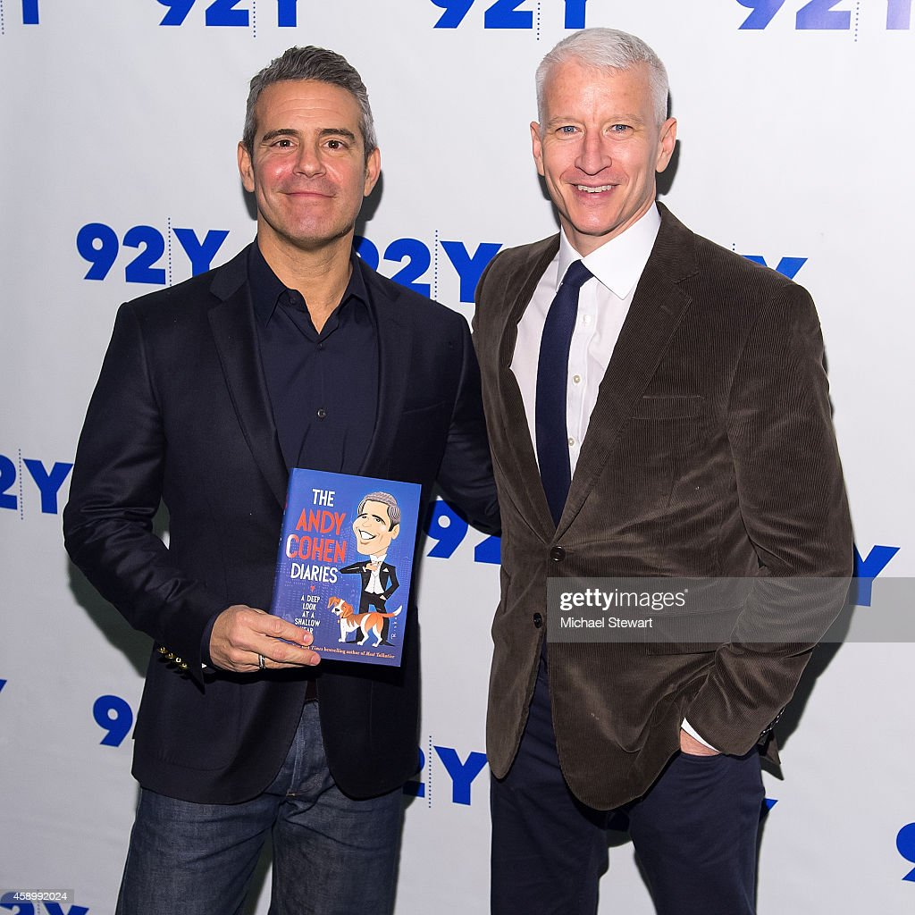 92nd Street Y Presents: Andy Cohen In Conversation With Anderson Cooper