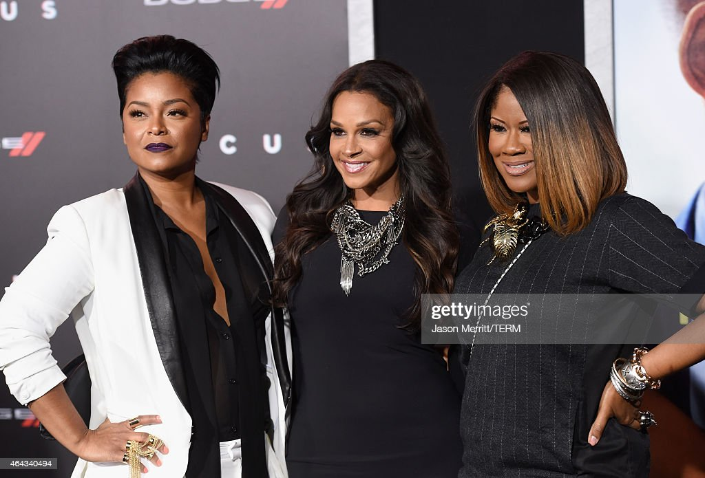 TV Personalities April Daniels Sheree Fletcher And Diann Valentine Attend  The Warner Bros Picturesu0027 U0027