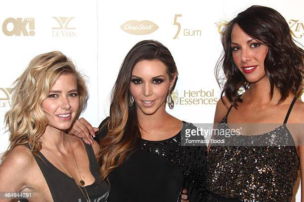 TV personalities Ariana Madix Scheana Marie and Kristen Doute attend the OK Magazine preGrammy party held at Lure on January 24 2014 in Hollywood...