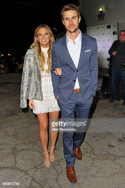 TV personalities Becca Tilley and Robert Graham attend the premiere party for The Bachelor Charity at Sycamore Tavern on January 2 2017 in Los...