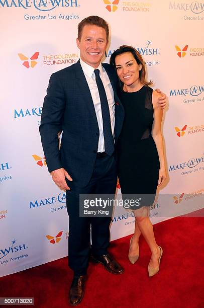 TV personalities Billy Bush and Kit Hoover attend the MakeAWish Greater Los Angeles Annual Wishing Well Winter Gala at the Beverly Wilshire Four...