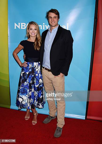Personalities Cameran Eubanks and Shep Rose arrive at the 2016 Summer TCA Tour - NBCUniversal Press Tour at the Four Seasons Hotel - Westlake Village...
