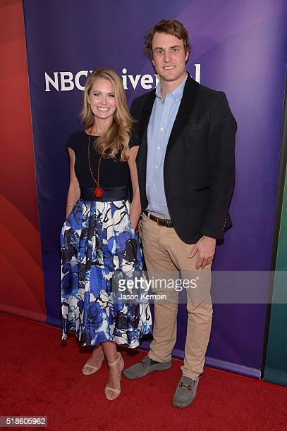 TV personalities Cameran Eubanks and Shep Rose attend the 2016 NBCUniversal Summer Press Day at Four Seasons Hotel Westlake Village on April 1 2016...