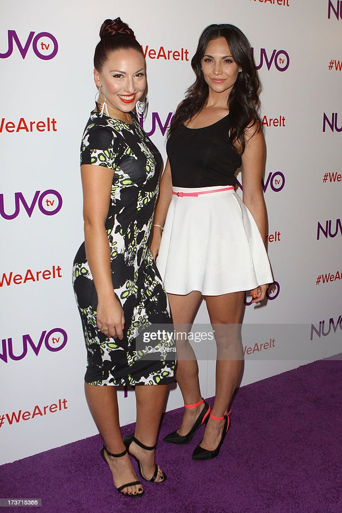 TV personalities Cat Rendic (L) and Tera Perez attend NUVOtv Network Launch Party at The London West Hollywood on July 16, 2013 in West Hollywood, California.