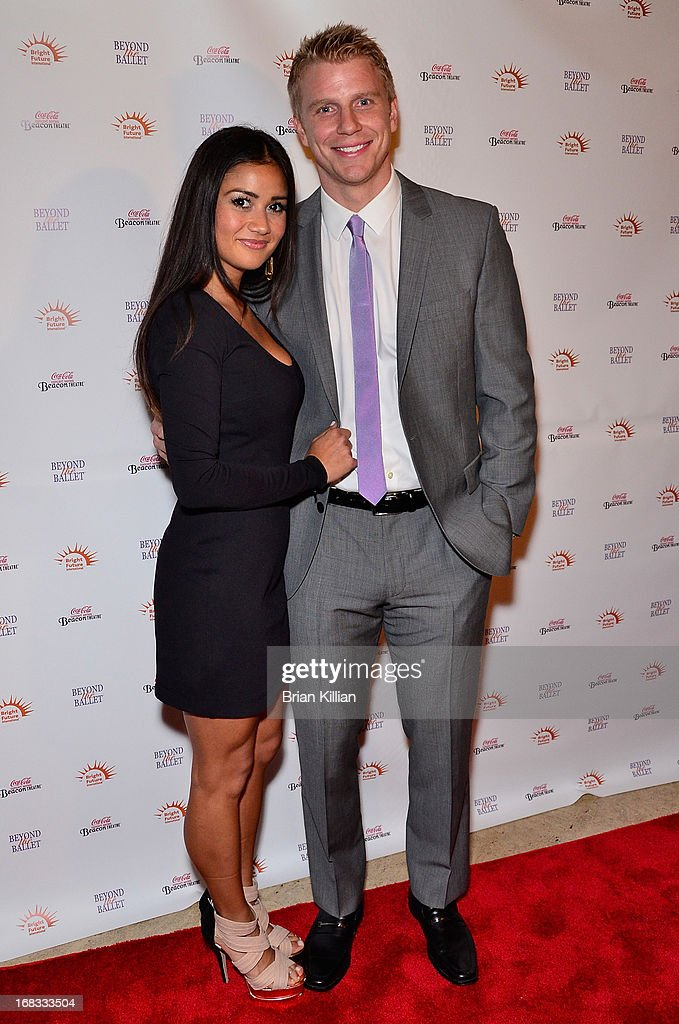TV personalities Catherine Giudici and Sean Lowe attend Beyond The Ballet Showcase Gala at The Beacon Theatre on May 8, 2013 in New York City.