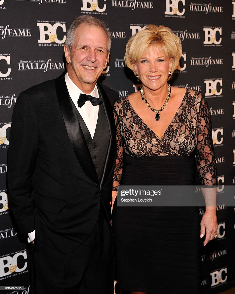 TV personalities Charlie Gibson and Joan Lunden attend the 2012 Broadcasting & Cable Hall Of Fame Awards at The Waldorf=Astoria on December 17, 2012 in New York City.