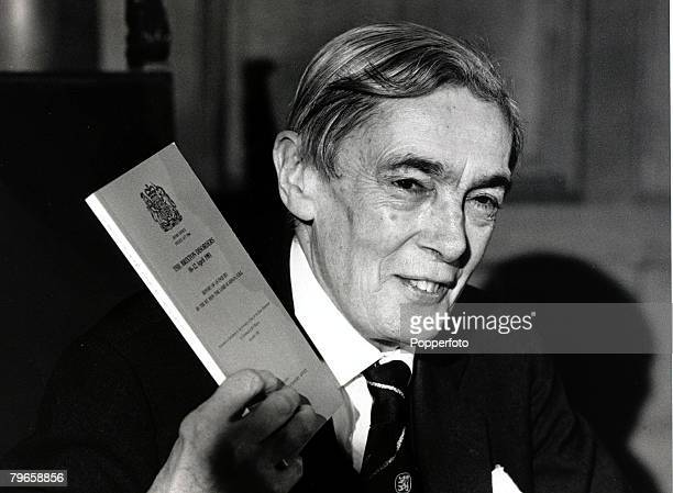 25th November 1981 Lord Scarman presents his report into the 1981 Brixton riots in South London