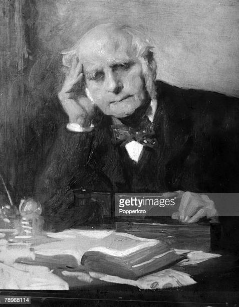 circa 1870's Sir Francis Galton a many talented man who was a anthripologist an expert in regression and who devised a method for classifying...