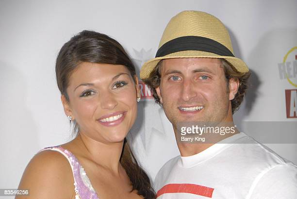 Personalities Dianna Pappas and Jesse Cxncsak arrives at the Fox Reality Channel's Really Awards held at Avalon Hollywood on September 24 2008 in...
