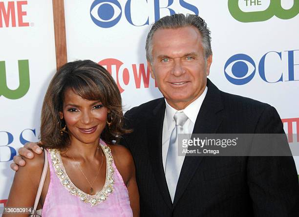 TV personalities Dr Lisa Masterson and Dr Andrew Ordon arrive at the TCA Party for CBS The CW and Showtime held at The Pagoda on August 3 2011 in...