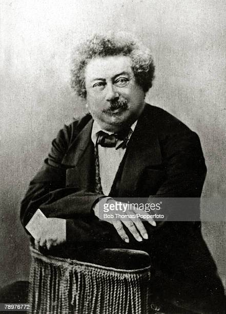 circa 1860's Alexandre Dumas French novelist famous for ' The Count of Monte Christo'