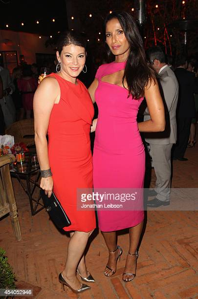 TV personalities Gail Simmons and Padma Lakshmi attend Variety and Women in Film Emmy Nominee Celebration powered by Samsung Galaxy on August 23 2014...