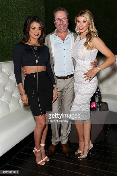 TV personalities Golnesa 'GG' Gharachedaghi Jim Bellino and Alexis Bellino attend OK Magazine's So Sexy LA Event at LURE on May 21 2014 in Los...
