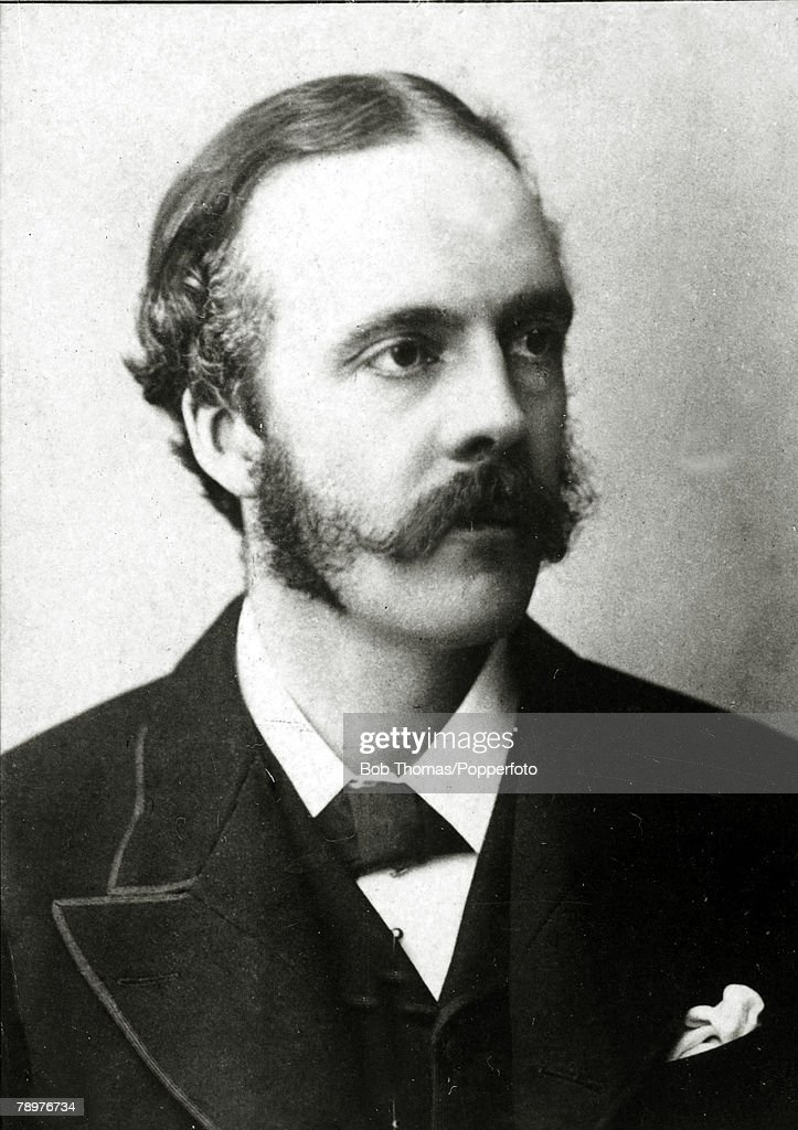 Personalities. Great Britain. Politics. pic: circa 1900. Arthur Balfour, (1848-1930) British politician, Prime Minister from 1902-1905. : News Photo