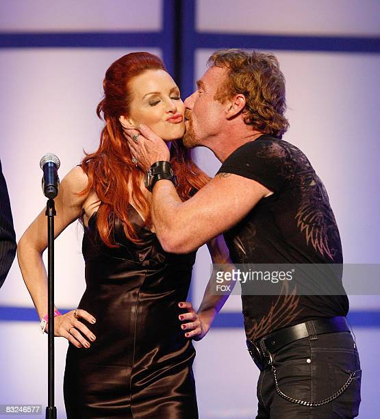 TV personalities Gretchen Bonaduce and Danny Bonaduce attend the FOX Reality Channel Really Awards on September 24 2008 at the Avalon Hollywood club...