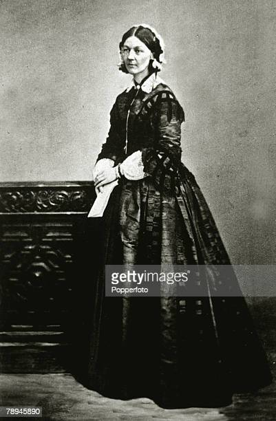 Personalities, Health/Nursing, pic: circa 1860, Florence Nightingale, English nurse and pioneer of hospital reform, noted for her exploits during the...