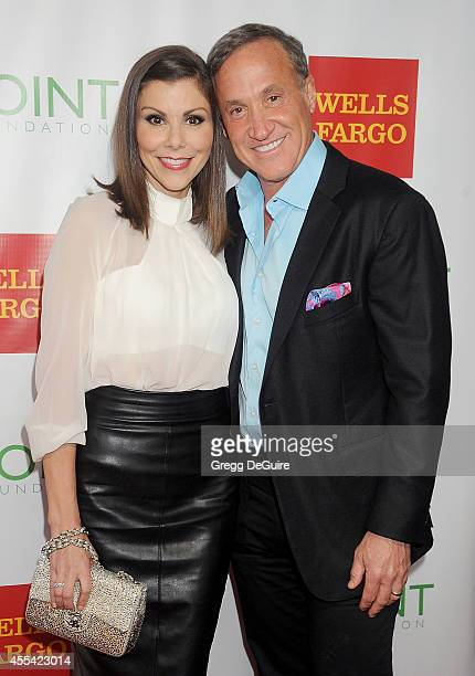 TV personalities Heather Dubrow and Terry Dubrow arrive at Point Foundation's Annual Voices On Point Fundraising Gala at the Hyatt Regency Century...