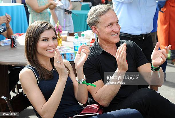 TV personalities Heather Dubrow and Terry Dubrow attend the Elizabeth Glaser Pediatric AIDS Foundation's 26th Annual A Time For Heroes Family...