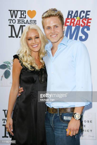 TV Personalities Heidi Montag and Spencer Pratt arrive at The Nancy Davis Foundation for the Race to Erase MS shopping benefit held at Lambertson...