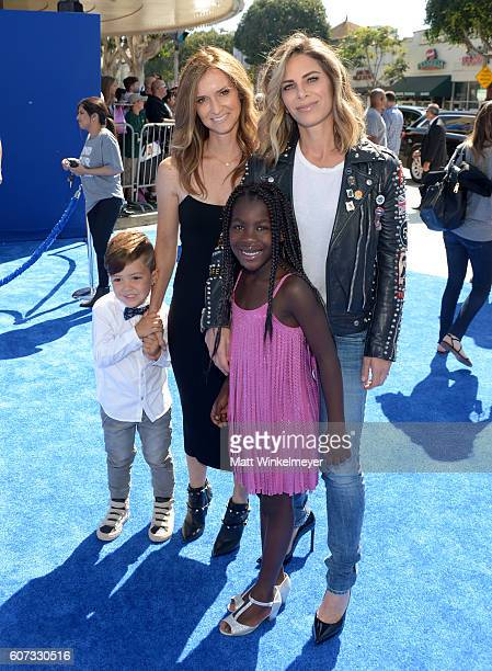 TV personalities Heidi Rhoades Jillian Michaels and Phoenix Michael Rhoades and Lukensia Michaels Rhoades arrives at the premiere of Warner Bros...