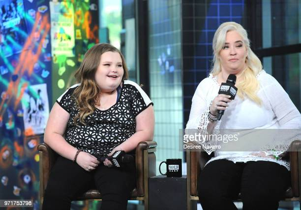TV personalities Honey Boo Boo and Mama June visit Build Series to discuss 'Mama June From Not to Hot' at Build Studio on June 11 2018 in New York...