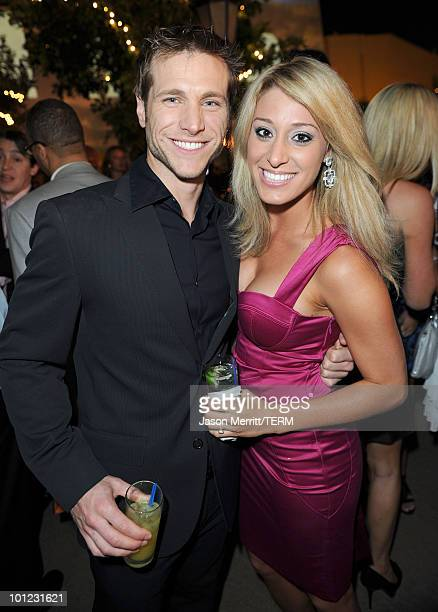 Personalities Jake Pavelka and Vienna Girardi attend the 11th annual Maxim Hot 100 Party with HarleyDavidson ABSOLUT VODKA Ed Hardy Fragrances and...
