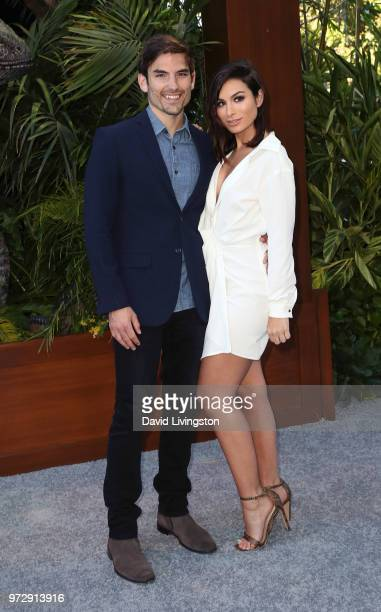 TV personalities Jared Haibon and Ashley Iaconetti attend the premiere of Universal Pictures and Amblin Entertainment's Jurassic World Fallen Kingdom...