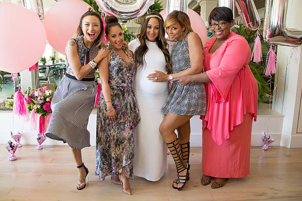 Tamera Mowrys Baby Shower Photos And Images Getty Images