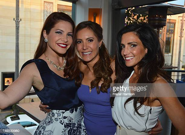 TV Personalities Julia Allison Amy Laurent and Emily Morse attend the season premiere viewing party of Bravo's Miss Advised hosted by Executive...