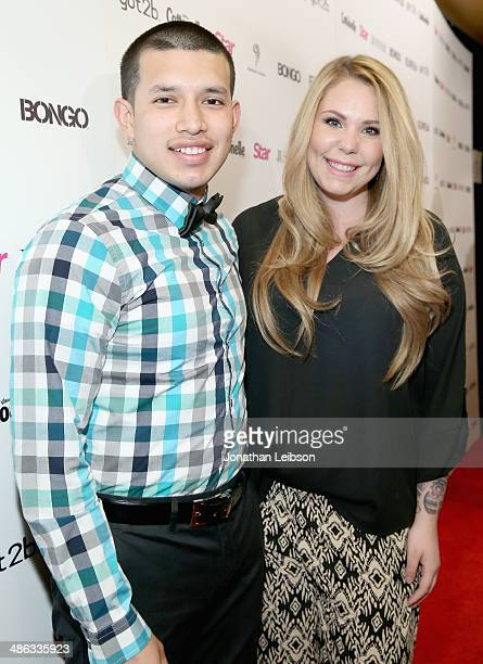 TV personalities Kailyn Lowry and Javi Marroquin attend Star Magazine Hollywood Rocks 2014 at SupperClub Los Angeles on April 23 2014 in Los Angeles...