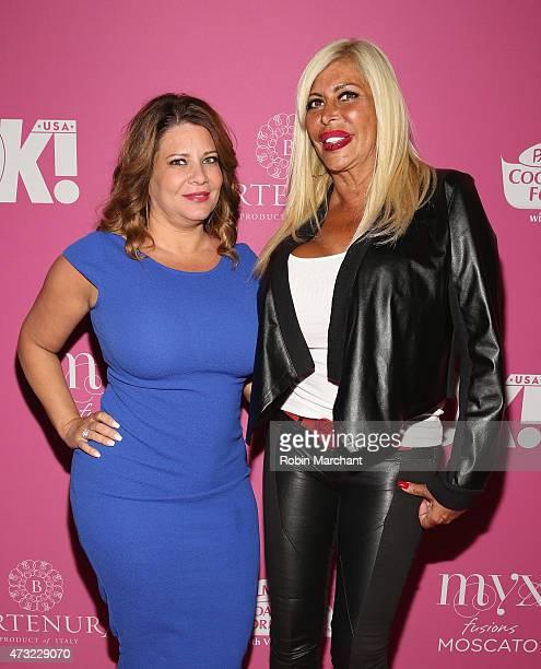 Personalities Karen Gravano and Angela 'Big Ang' Raiola attend OK Magazine's So Sexy NYC Event at HAUS Nightclub on May 13 2015 in New York City