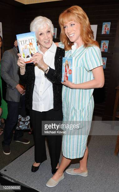 TV personalities Kathy Griffin and her mother Maggie Griffin sign copies of their new books Official Book Club Selection and Tip It at Barnes Noble...