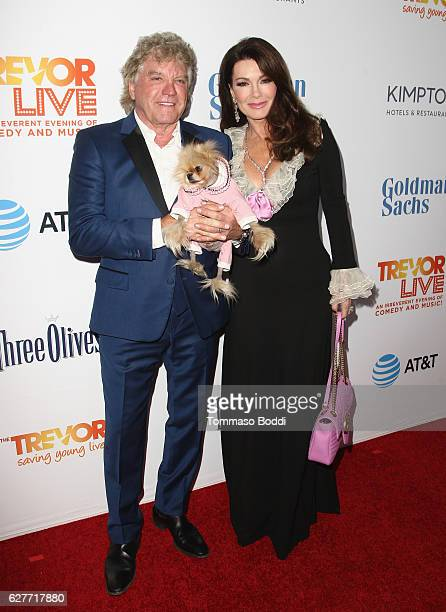 TV personalities Ken Todd and Lisa Vanderpump attend The Trevor Project's 2016 TrevorLIVE LA at The Beverly Hilton Hotel on December 4 2016 in...