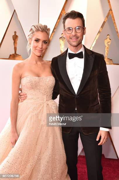 TV personalities Kristin Cavallari and Brad Goreski attend the 90th Annual Academy Awards at Hollywood Highland Center on March 4 2018 in Hollywood...
