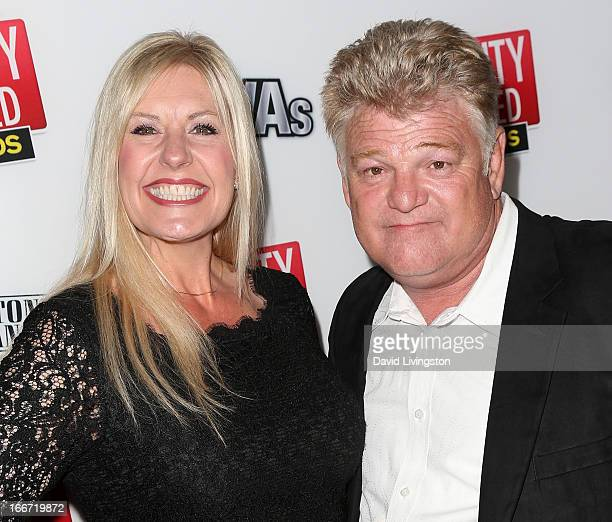 "Personalities Laura Dotson and Dan Dotson attend the 1st annual ""RealityWanted"" reality TV awards show at Greystone Mansion on April 11, 2013 in..."