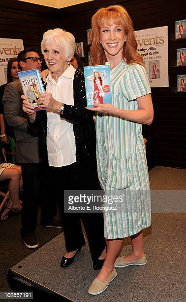 TV personalities Maggie Griffin and Kathy Griffin host a signing of their books Tip It and Offical Book Club Selection on June 30 2010 in Los Angeles...